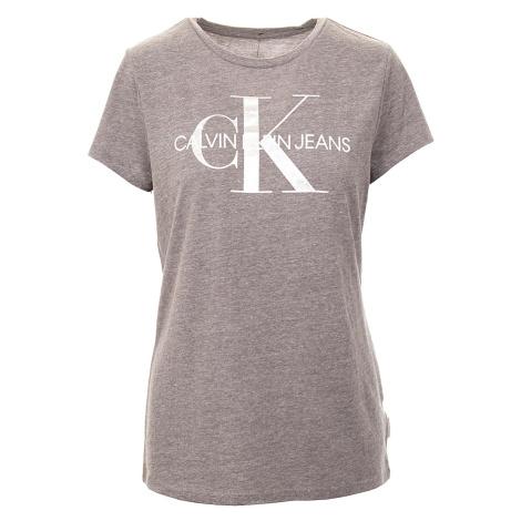 Calvin Klein dámské tričko šedé