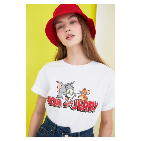 Dámské tričko Trendyol Printed