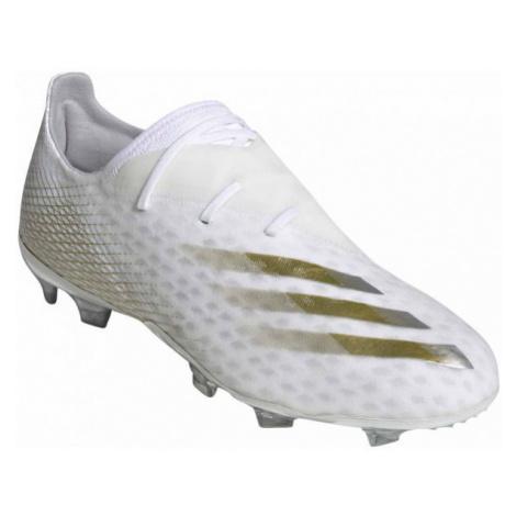 adidas X GHOSTED.2 FG bílá - Pánské kopačky