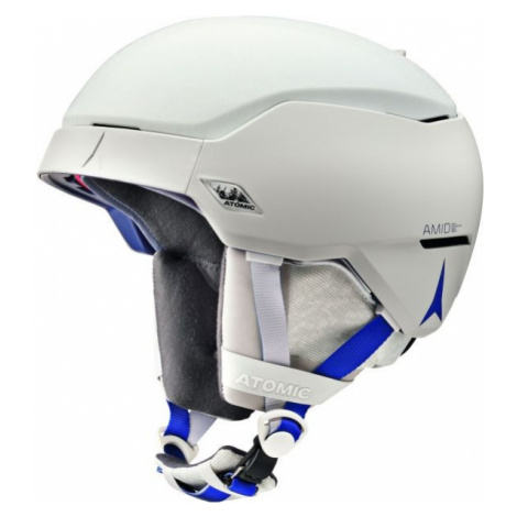 Atomic COUNT AMID bílá - Lyžařská helma