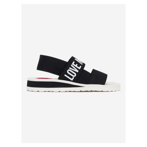 Sandále Love Moschino Černá