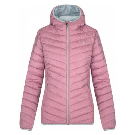 LOAP IRFELA Dámská zimní bunda CLW20127H31XT Ht Rose Melange / Gray