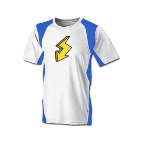 Funkční tričko pánské Blesk samolepka