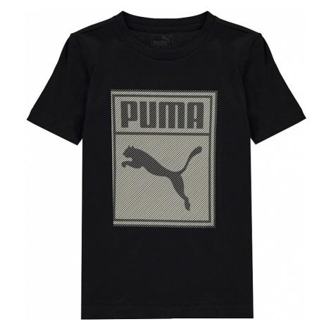 Dětské bavlněné tričko Puma