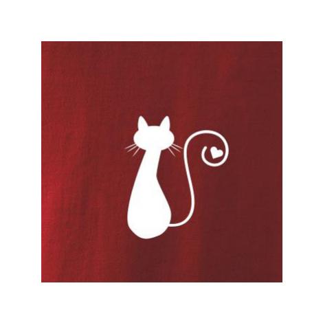Zamilovaná kočka ocásek - Mikina Essential pánská