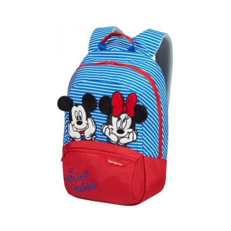SAMSONITE Dětský batoh Disney Ultimate 2.0 Minnie/Mickey Stripes, 26 x 15 x 35 (131850/8705)