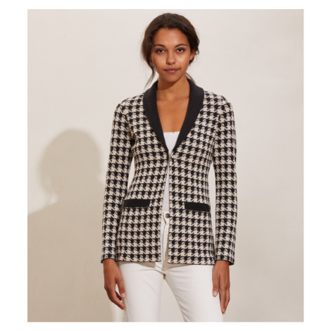 Svetr Odd Molly Penny Knitted Jacket - Černá
