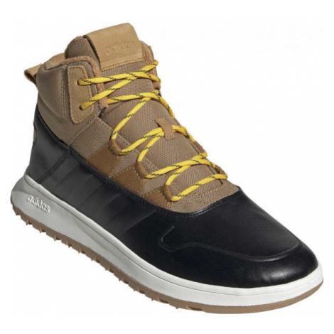adidas FUSION STORM WTR hnědá - Pánská volnočasová obuv