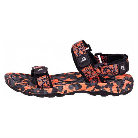 ALPINE PRO BATHIALY Unisex sandály UBTN167779 tmavě šedá