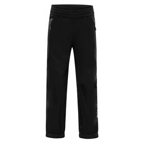 Dětské kalhoty Alpine Pro OLWENO - černá