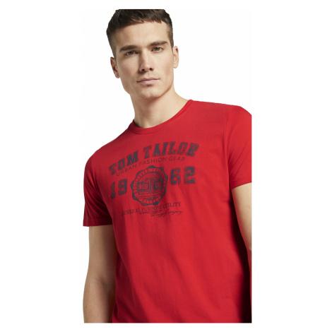 Tom Tailor pánské triko s logem 1008637/15220