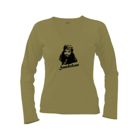 Dámské tričko dlouhý rukáv Sandokan