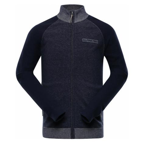 ALPINE PRO LAZER Pánský svetr MPLP070602 mood indigo