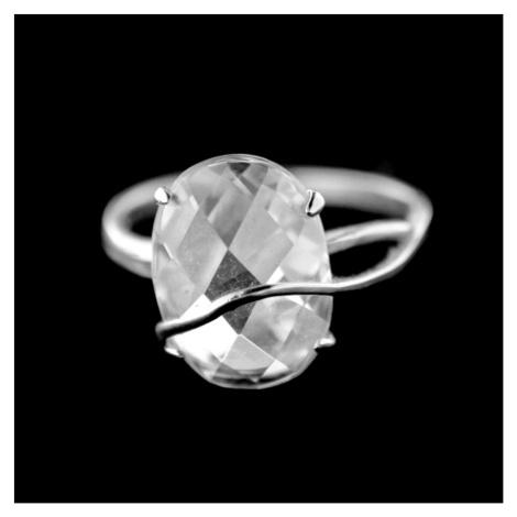 Stříbrný prsten 15390