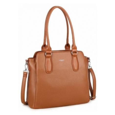 Tříkomorová dámská kabelka z eko kůže Luigisanto
