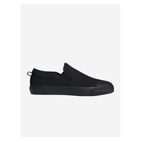 Boty adidas Originals Nizza Slip On Černá