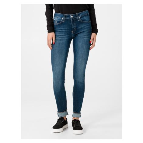 011 Jeans Calvin Klein Modrá