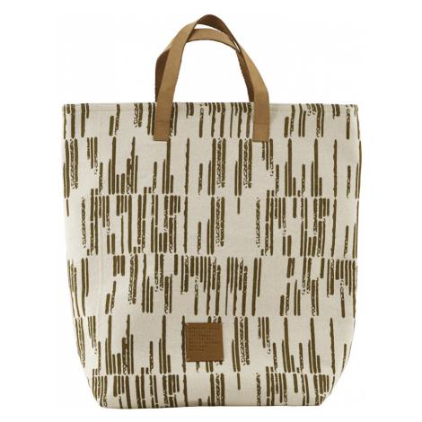Světle hnědá nákupní taška Batik
