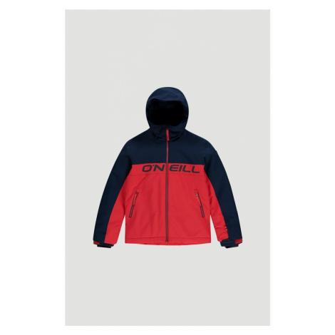 O'NEILL Outdoorová bunda 'Felsic' ohnivá červená / tmavě modrá