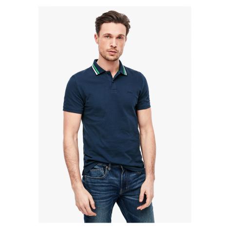 s.Oliver pánské tričko s límečkem 03.899.35.2306/5865