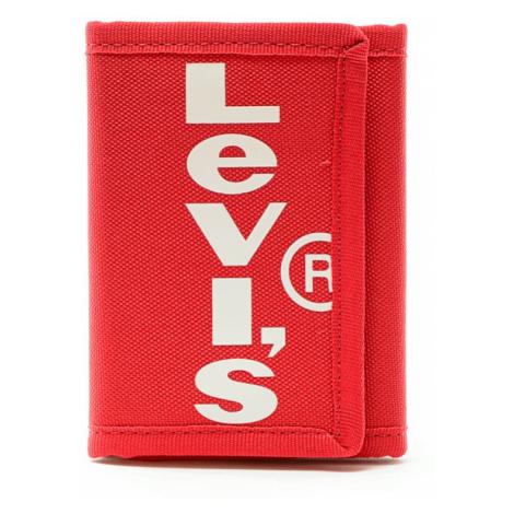 Peněženka Levi´s® Oversized Tab Trifold červená