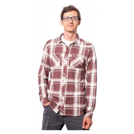 Pánská košile CHILLAZ Sebastian mahagony