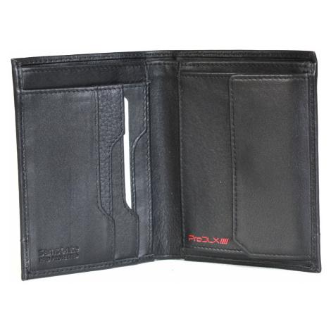 SAMSONITE Pánská peněženka PRO-DLX klasická kožená RFID černá, 10 x 1 x 12 (75430/1041)