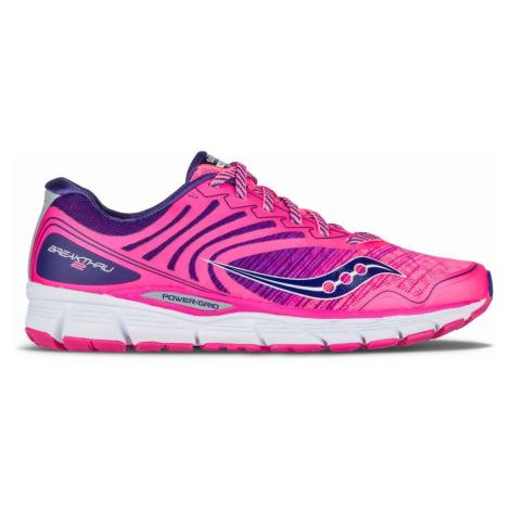 Dámská běžecká obuv Saucony Breakthru 2 Růžová / Fialová