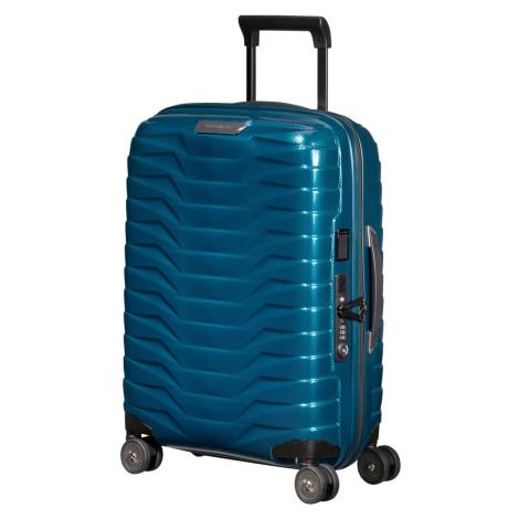 Cestovní kufr Samsonite Proxis Spinner 55 EXP Barva: modrá