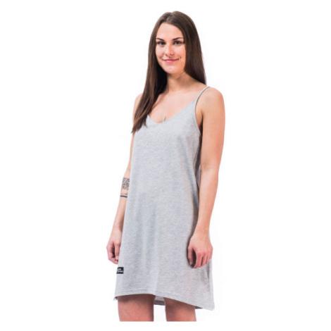 Horsefeathers ASTRID DRESS šedá - Dámské šaty