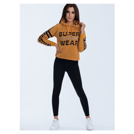 PINOVA women's sweatshirt yellow BY0822 DStreet
