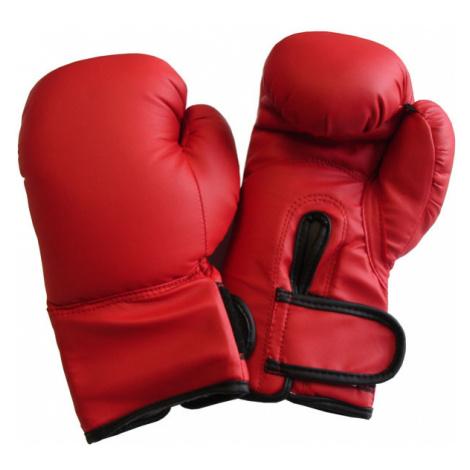Acra BR10 Boxerské rukavice PU kůže Barva: červená