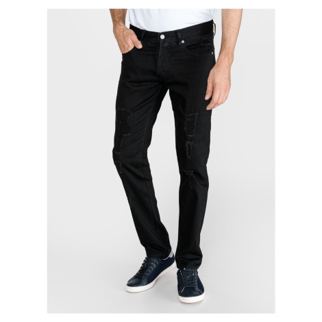Jeans Armani Exchange Černá