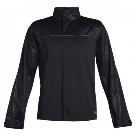 Under Armour Storm Rain Jacket Pánská golfová bunda 1344085-001 Black