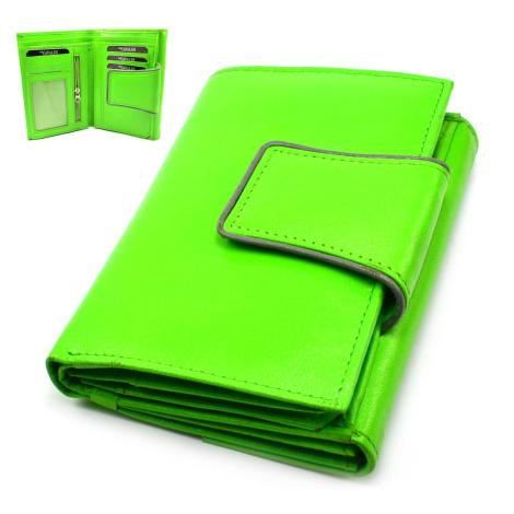 Stylová dámská peněženka zelená Cavaldi