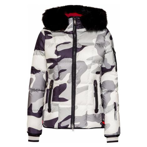 Lyžařská bunda Bogner GIANA-D vzorkování|šedá