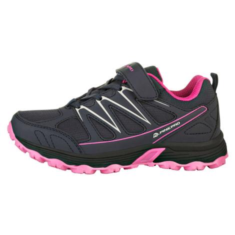 ALPINE PRO RELIUSO Dětská outdoorová obuv KBTR218452 růžová