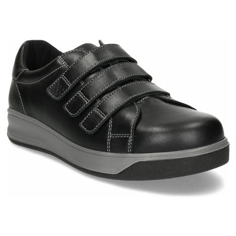 Pánská zdravotní obuv na suchý zip MEDI