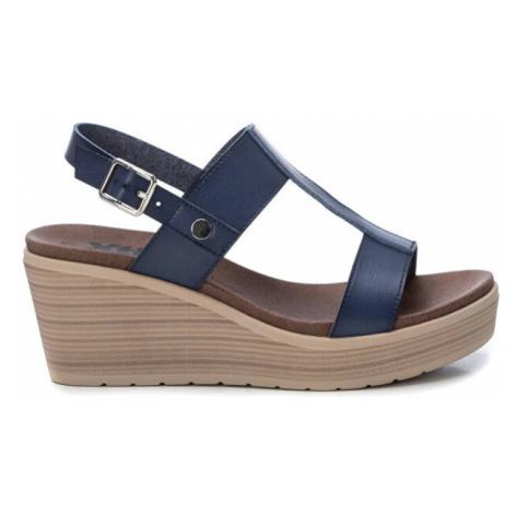 XTi Dámské sandále Navy Pu Ladies Sandals Navy