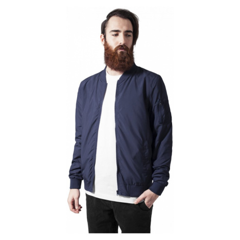 Light Bomber Jacket - navy Urban Classics