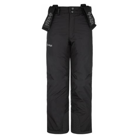 KILPI Chlapecké lyžařské kalhoty MIMAS-JB NJ0017KIBLK Černá