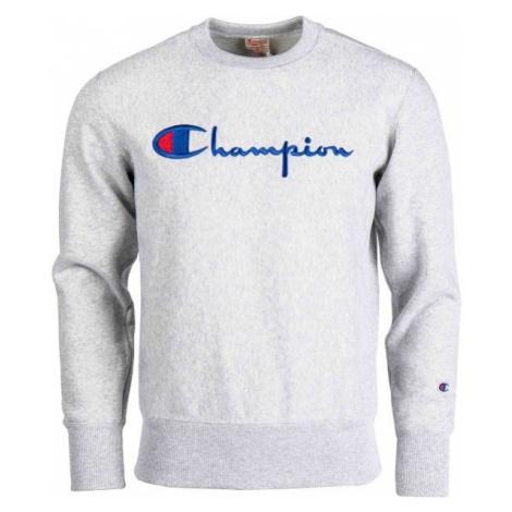 Champion CREWNECK SWEATSHIRT šedá - Pánská mikina