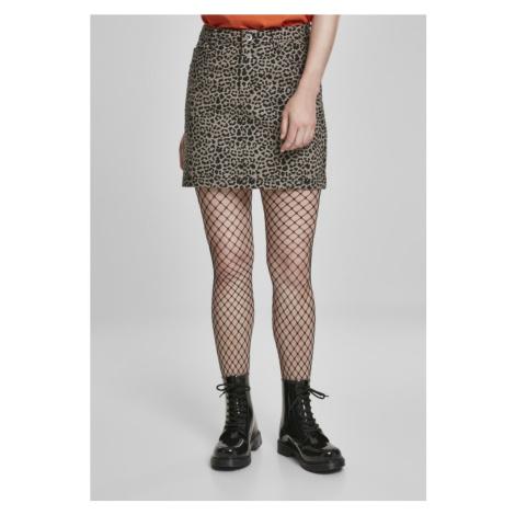 Ladies AOP Twill Mini Skirt Urban Classics