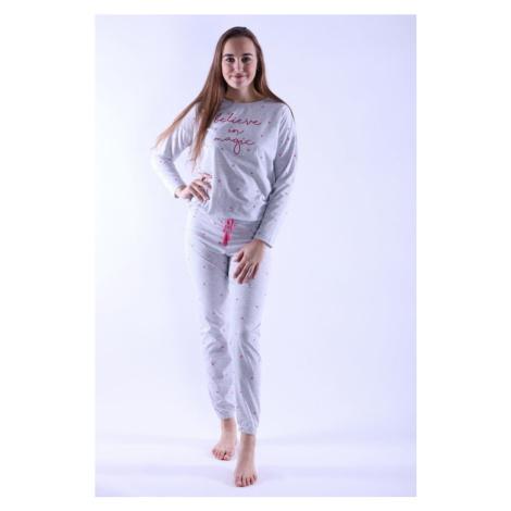 Vienetta Secret Dámské pyžamo Camila šedé magic