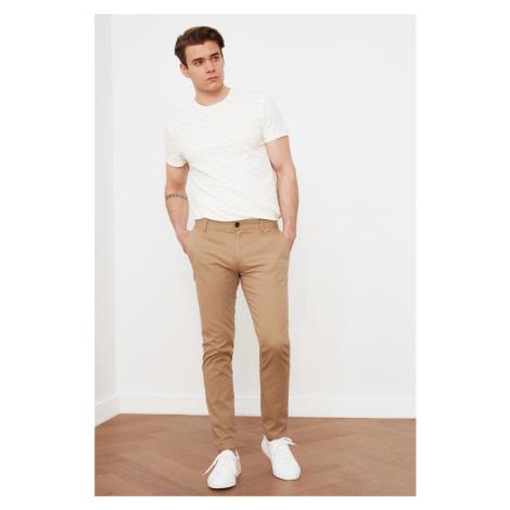 Trendyol Camel Men's Chino Trousers