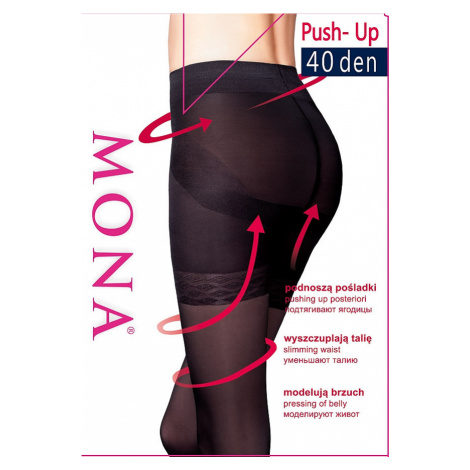 Dámské punčochové kalhoty Mona Push-Up 40 den