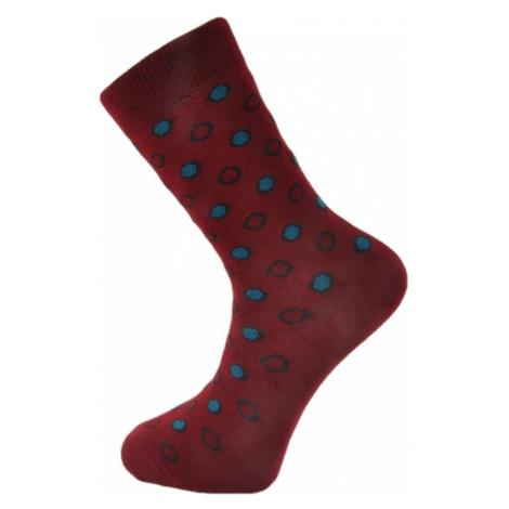 TrendUpcz Veselé ponožky Good Dots červené