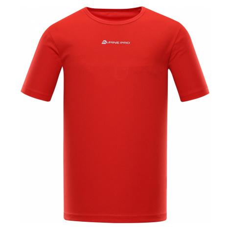 ALPINE PRO NASMAS 3 Pánské funkční triko MTSR463423PA červená
