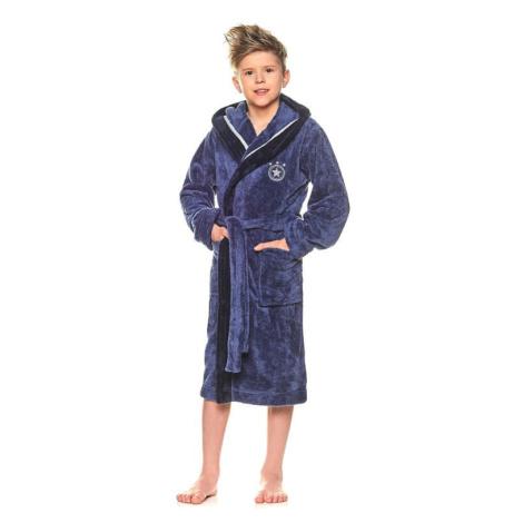 Chlapecký župan Star tmavě modrý L&L Collection