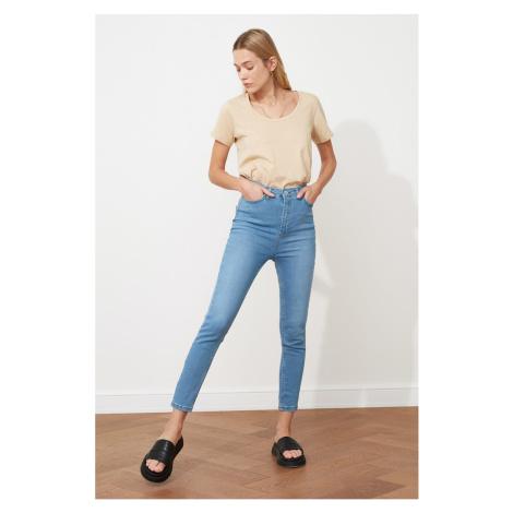Trendyol Light Blue High Waist Skinny Jeans